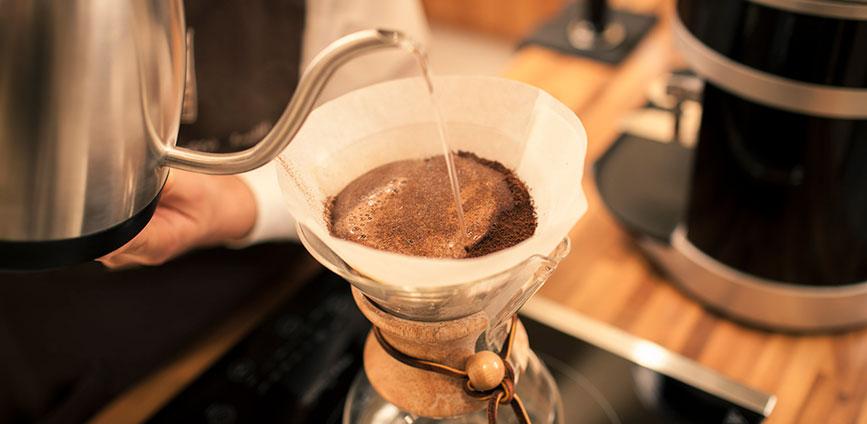 Come fare il caffé - Chemex® - Caffé Lelli